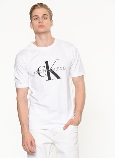 Calvin Klein Tişört Beyaz